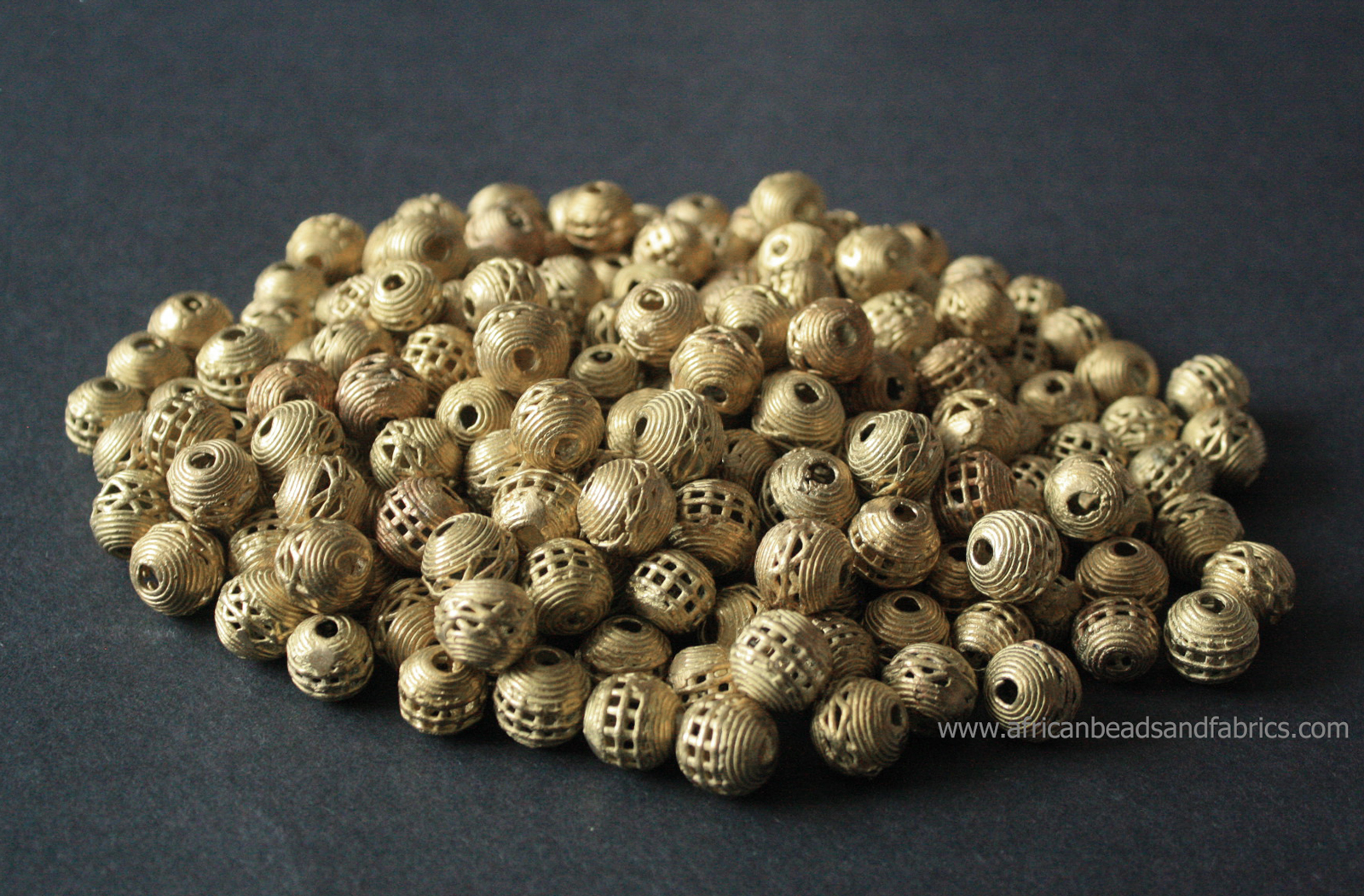 African-Brass-Beads-Round-Mesh-12–to-14mm-watermarked