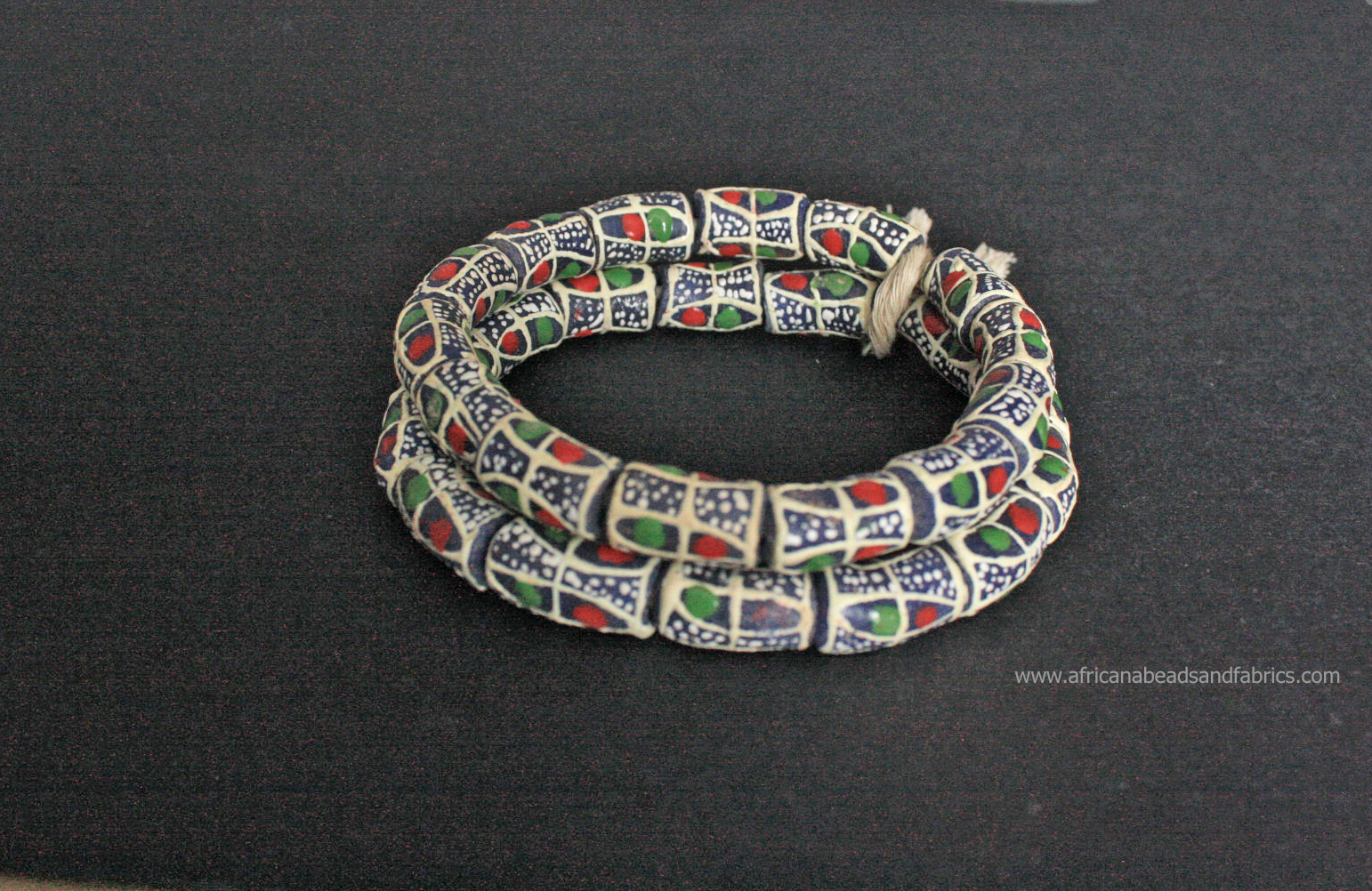 African-beads-Ghana-Krobo-Recycled-Glass-tubes-19-to-20mm-blueVanilla-watermarked