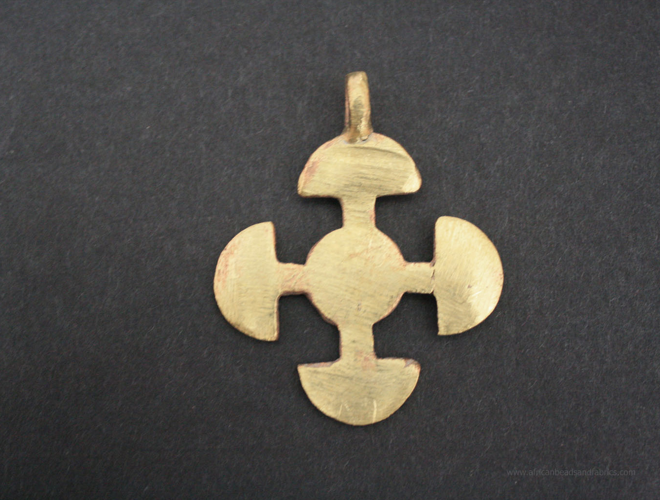 African-brass-adinkra-pendant-akoma-ntoso-linked-hearts