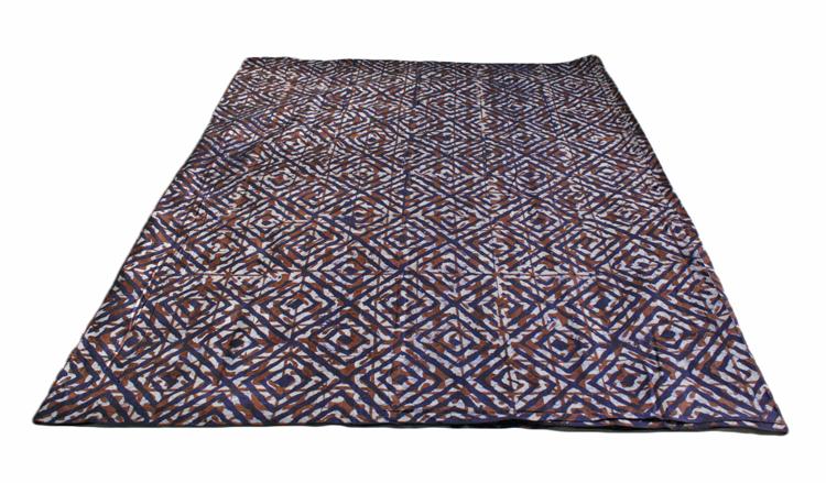 African-Batik-Fabric-Brown-Blue-Full-length