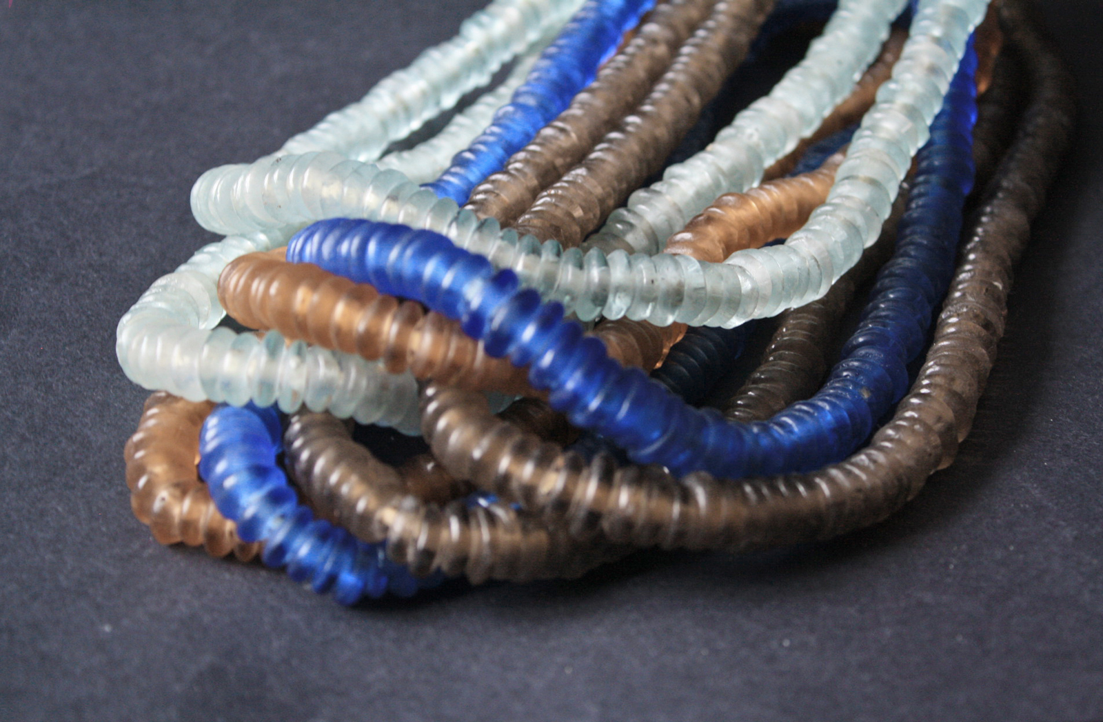 African-Beads-Krobo-Ghana-Recycled-Glass-Disc-Spacers12mm-3-colours