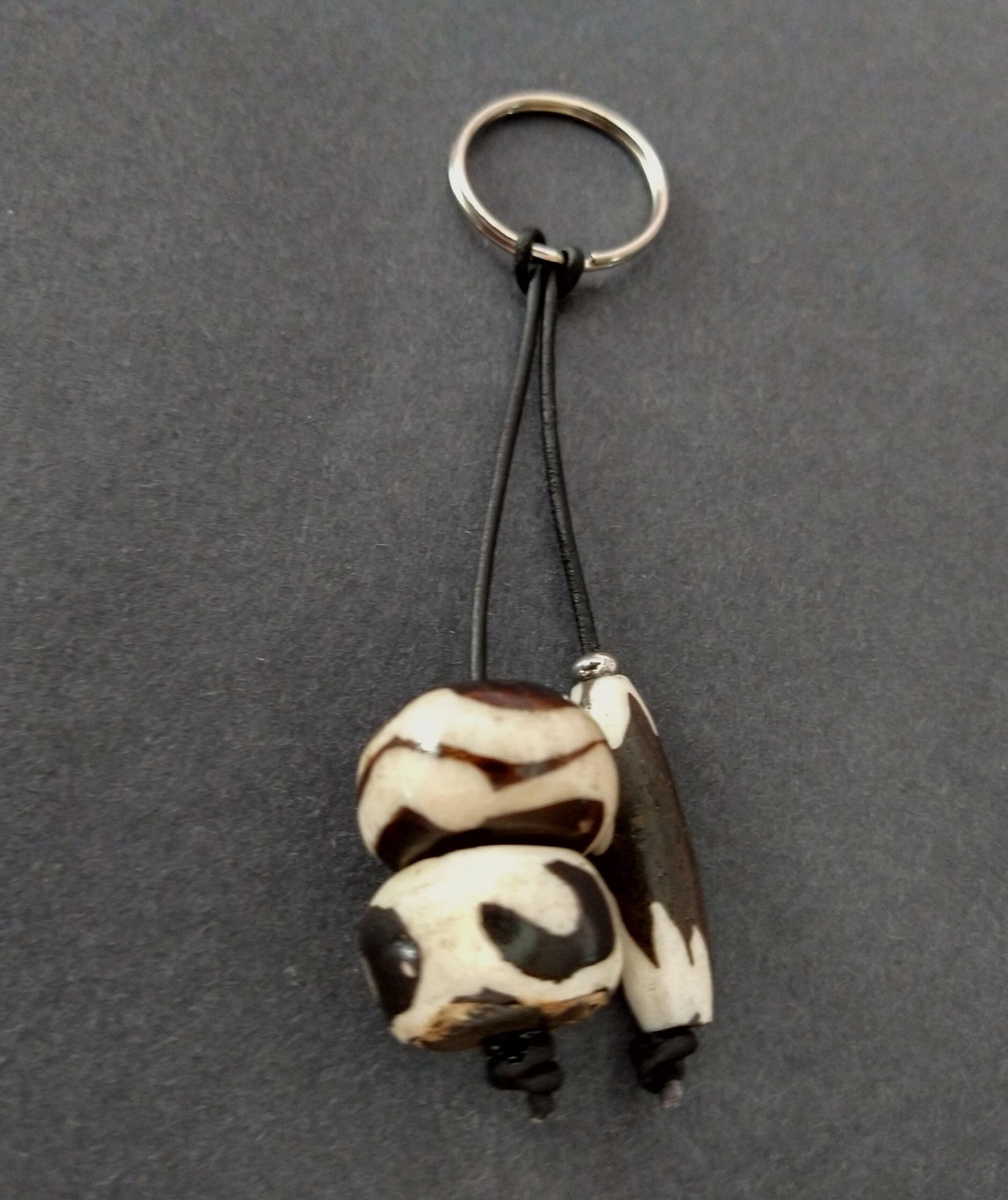 Bag-Charm-African-Bone-beads-no-wood