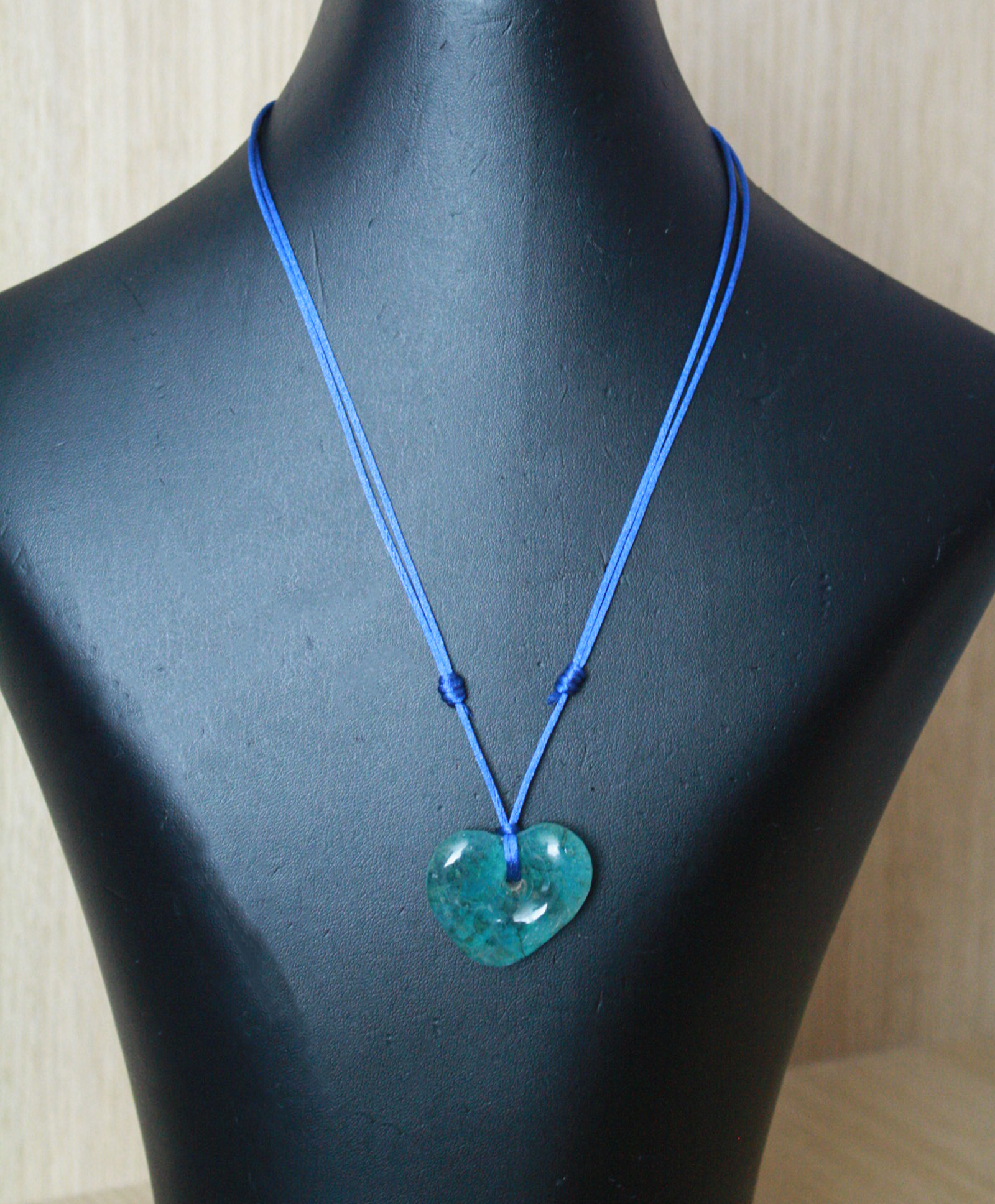 Silk-Cord-Necklace-with-Heart-Recycled-Glass-Pendant-full