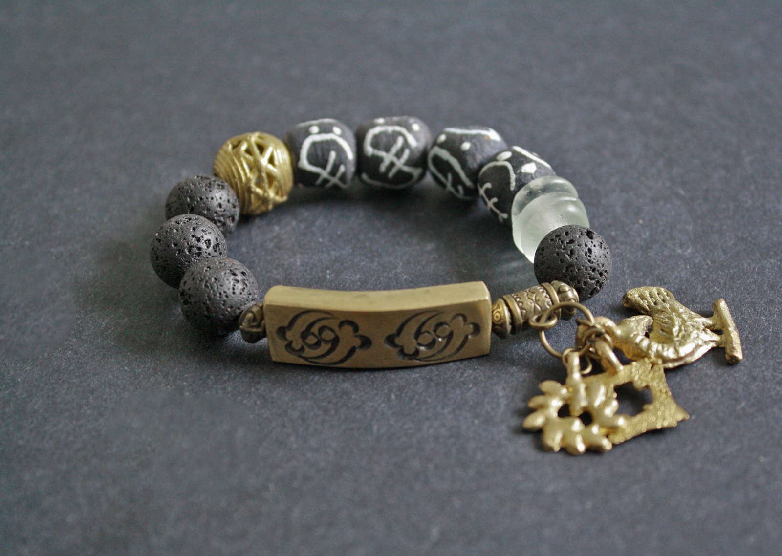 African-Jewelry-Adinkra-Gye-Nyame-and-Brass-Bar